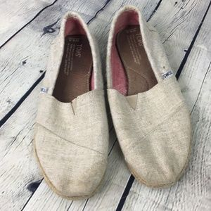 Toms Canvas Slip On Shoe's Size W8.5